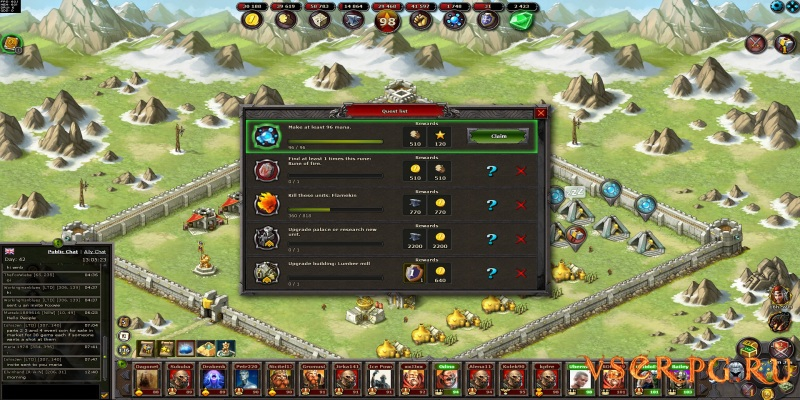 Emporea: Realms of War and Magic screen 1