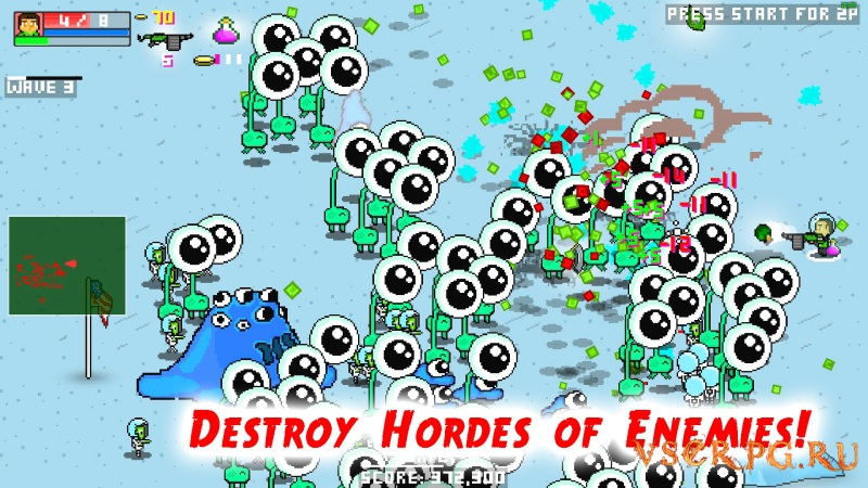 Zombie Party screen 2