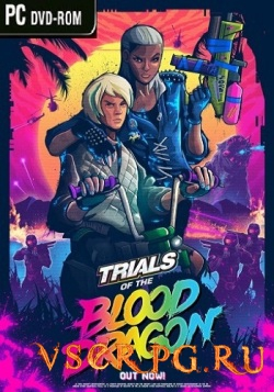 Постер игры Trials of the Blood Dragon