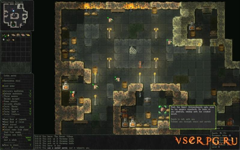 Vanilla Bagel: The Roguelike screen 2
