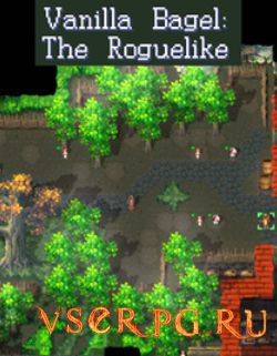 Постер игры Vanilla Bagel: The Roguelike