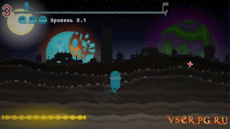 Alien Run screen 1