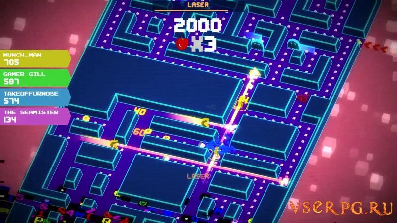 PAC-MAN 256 screen 2