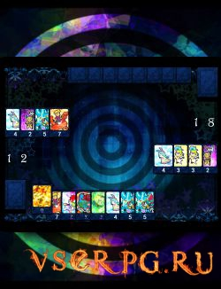 Постер игры Card of spirits
