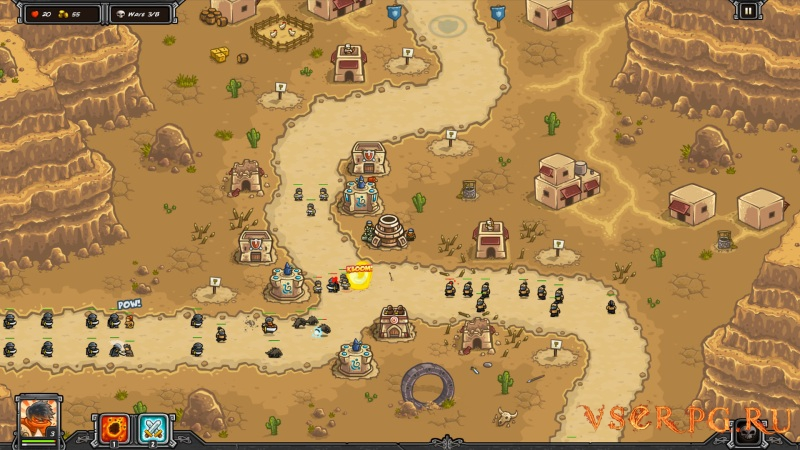 Kingdom Rush Frontiers screen 1