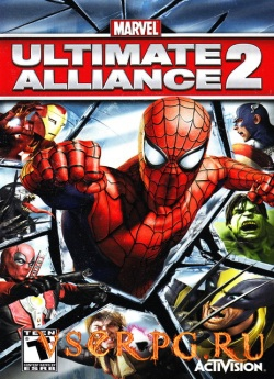Постер игры Marvel: Ultimate Alliance 2