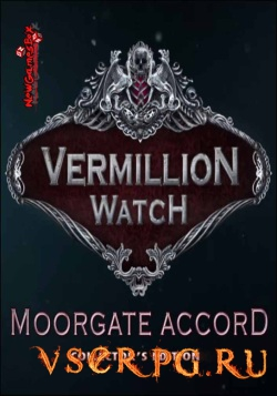 Постер игры Vermillion Watch: Moorgate Accord Collector's Edition