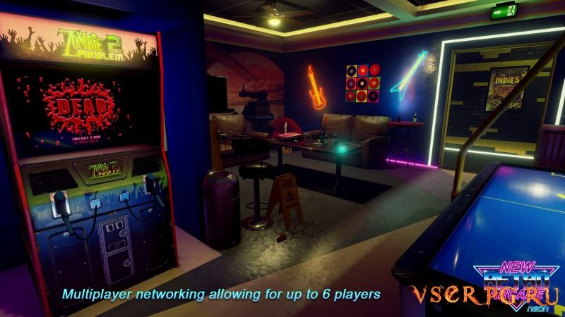 New Retro Arcade: Neon screen 1