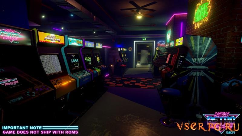 New Retro Arcade: Neon screen 3