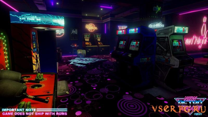 New Retro Arcade: Neon screen 2