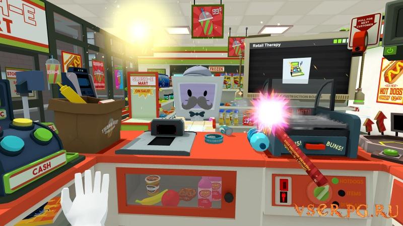 Job Simulator screen 1