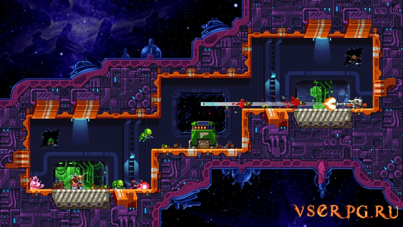Super Mutant Alien Assault screen 2