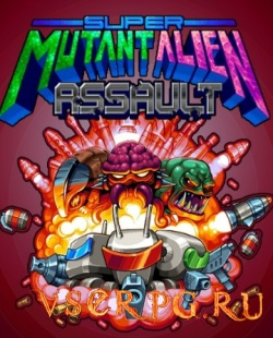 Постер игры Super Mutant Alien Assault