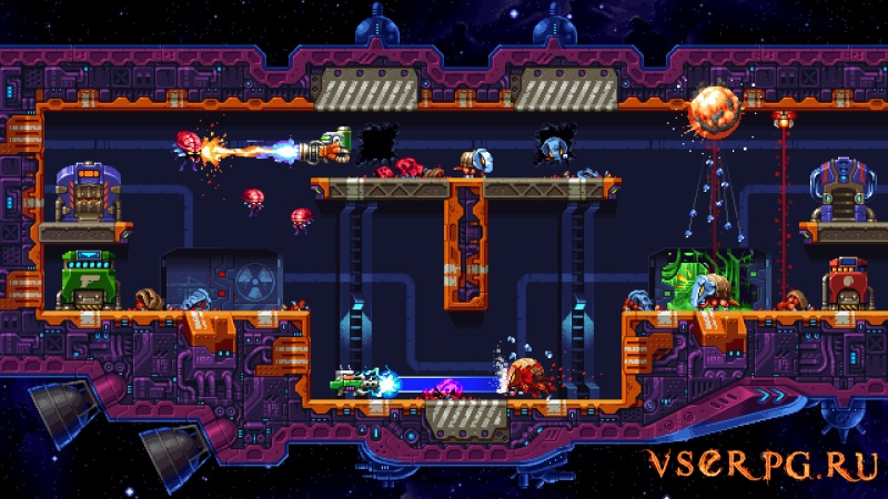 Super Mutant Alien Assault screen 3