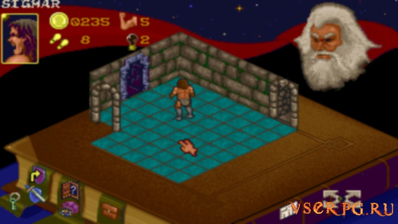 Hero Quest screen 1