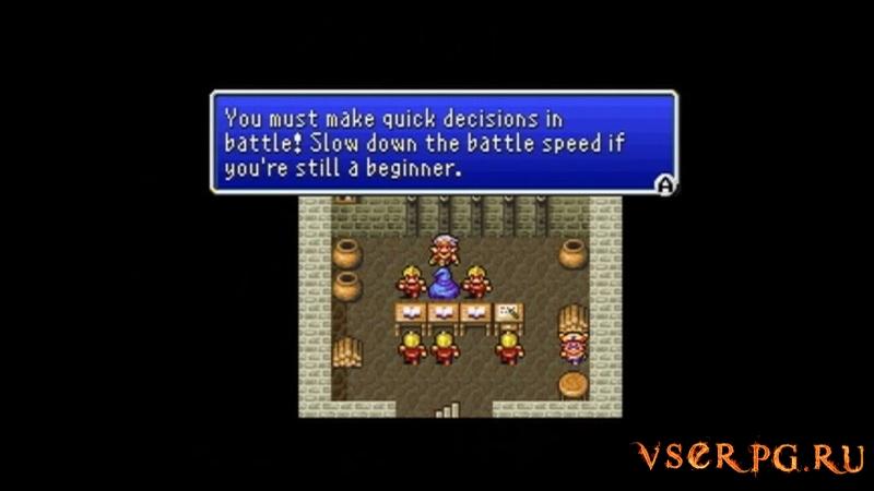Final Fantasy 4 / Final Fantasy II (1991) screen 1
