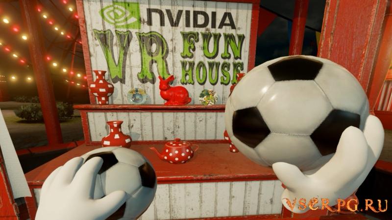NVIDIA VR Funhouse screen 1