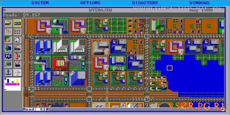 SimCity screen 3