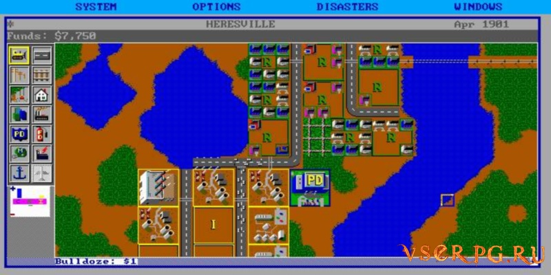 SimCity screen 2