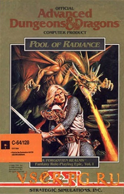Постер игры Pool of Radiance