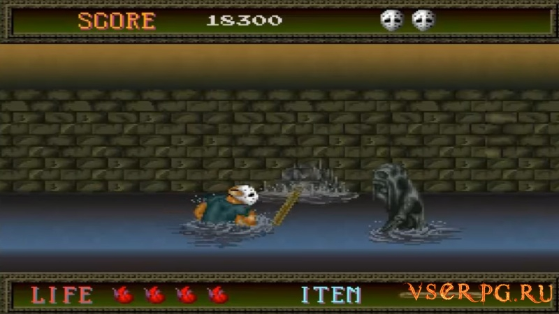 Splatterhouse (1988) screen 2