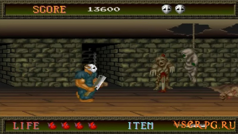Splatterhouse (1988) screen 3