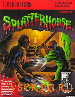 Постер игры Splatterhouse (1988)