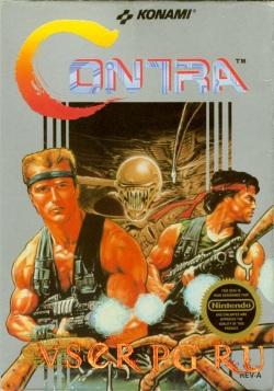 Постер игры Contra