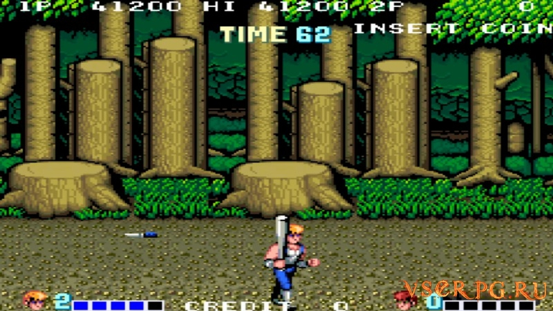 Double Dragon screen 1