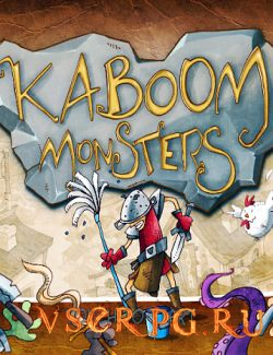 Постер игры Kaboom Monsters