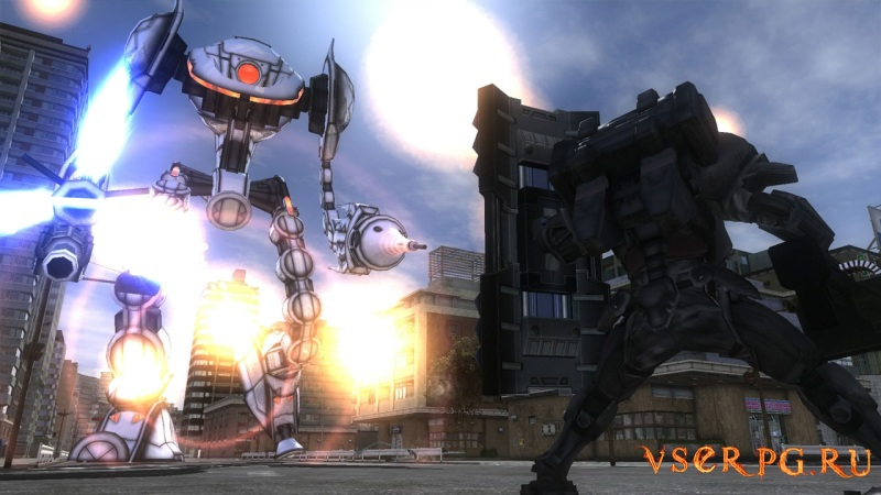 Earth Defense Force 4.1 The Shadow of New Despair PC screen 3
