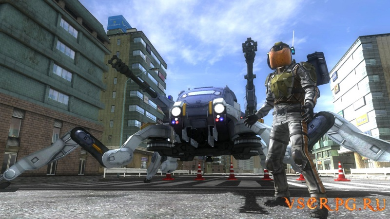 Earth Defense Force 4.1 The Shadow of New Despair PC screen 1