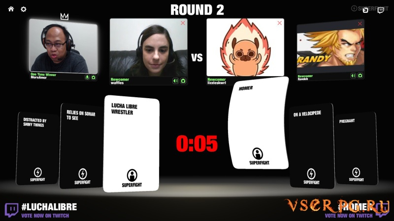 SUPERFIGHT screen 2