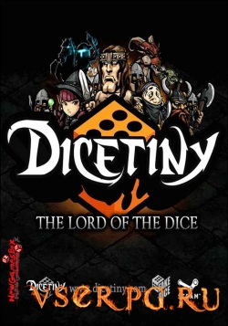 Постер игры DICETINY: The Lord of the Dice