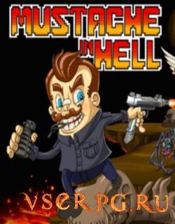 Постер игры Mustache in Hell