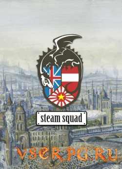 Постер игры Steam Squad