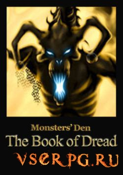 Постер игры Monsters' Den: Book of Dread