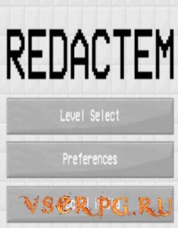 Постер игры Redactem