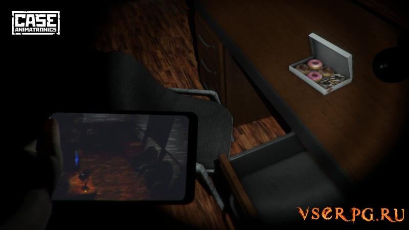 CASE: Animatronics screen 3