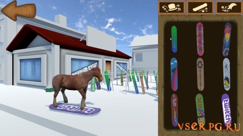 Snow Horse / Снежная лошадь screen 1