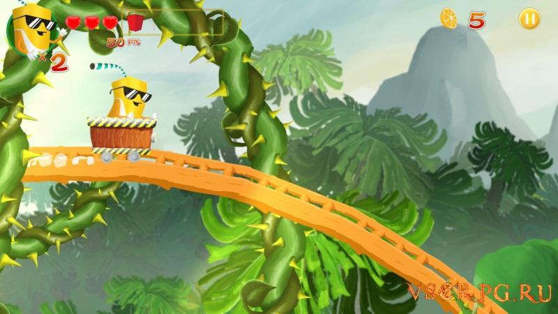 Orange Adventure screen 2