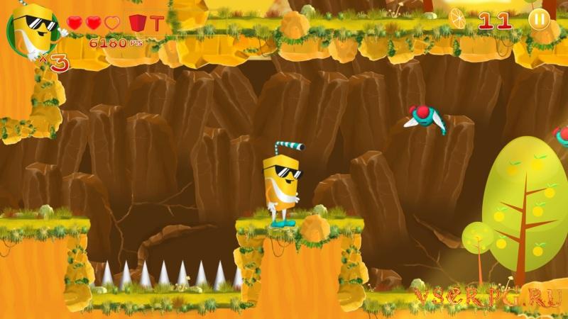 Orange Adventure screen 1