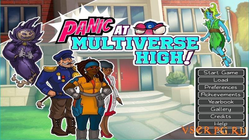 PANIC at Multiverse High screen 1