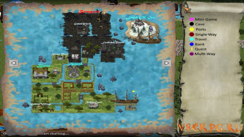 Orake 2D MMORPG screen 1