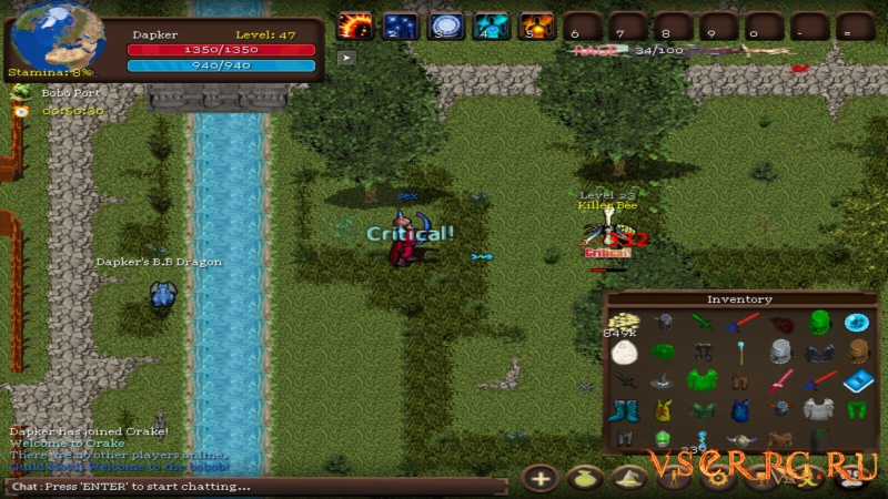 Orake 2D MMORPG screen 2