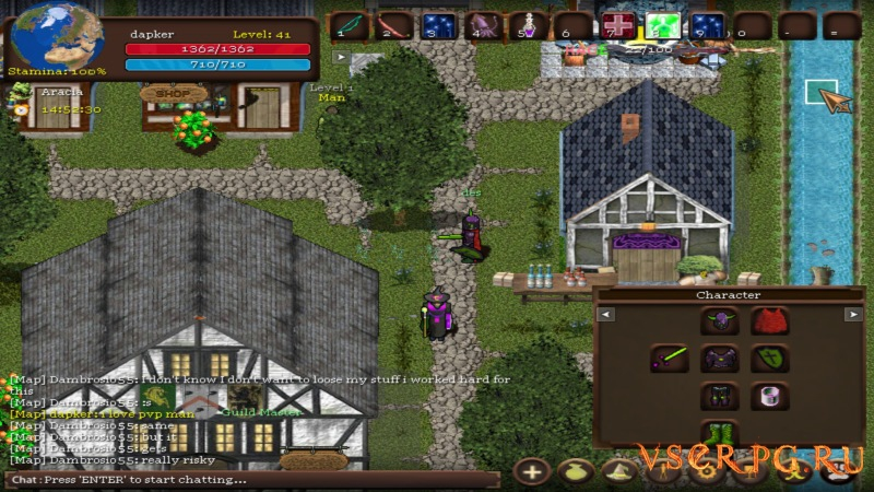 Orake 2D MMORPG screen 3