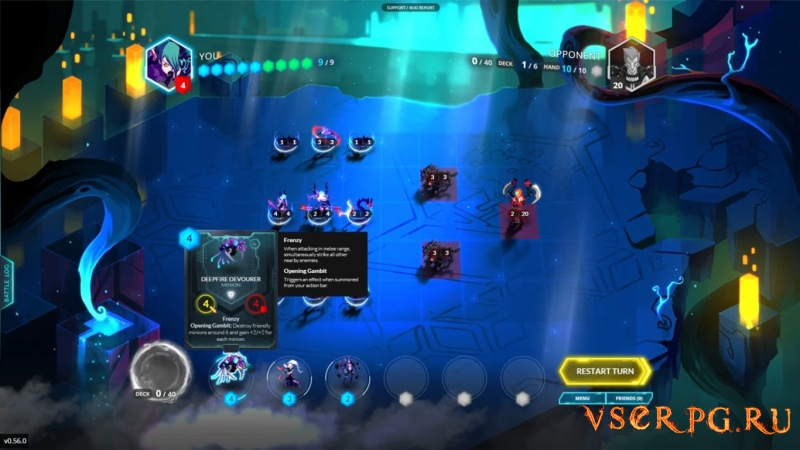 Duelyst screen 1
