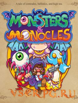 Постер игры Monsters and Monocles