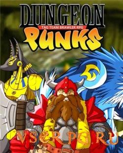 Постер игры Dungeon Punks
