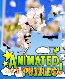 Постер игры Animated Puzzles